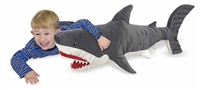 Shark Giant Stuffed Animal Available at Little-Minnows.com