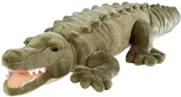 Alligator Giant Stuffed Animal Available at Little-Minnows.com