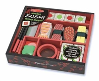 Sushi Slicing Wooden Play Food Set at Little-Minnows.com