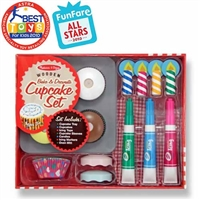 Bake and Decorate Cupcake Play Set at Little-Minnows.com