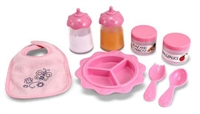 Girls Doll Time to Eat Feeding Set at Little-Minnows.com