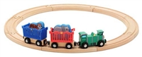 Zoo Animal Train Set available at little-minnows.com
