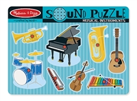 Musical Instruments Sound Puzzle