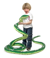 Snake Jumbo Stuffed Animal Available at Little-Minnows.com