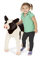 Calf Lifelike Stuffed Animal Available at Little-Minnows.com
