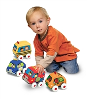 Melissa and Doug Pull-Back Vehicles Baby and Toddler Toy at www.little-minnows.com