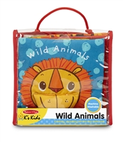 Soft Activity Book Wild Animals at Little-Minnows.com