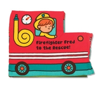 Soft Activity Book Firefighter Fred to the Rescue at Little-Minnows.com