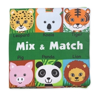 Soft Activity Book Mix and Match  at Little-Minnows.com