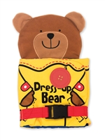 Soft Activity Book Dress-Up Bear at Little-Minnows.com