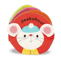 Soft Activity Book Peekaboo at Little-Minnows.com