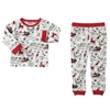 Very Merry Red Trim Pajama Set at www.little-minnows.com