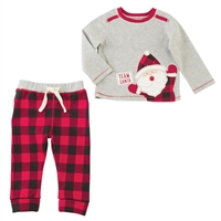 Team Santa My First Christmas Two Piece Set at Little-Minnows.com
