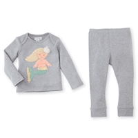 Girls' Mermaid Pants Set at Little-Minnows.com