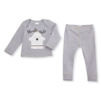 "Girls' ""Ghouls Rule"" Two-Piece Set at Little-Minnows.com"