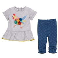 Chicken Tunic and Legging Set at Little-Minnows.com