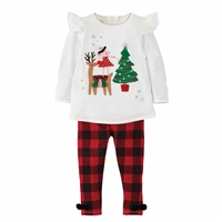 Mud Pie Reindeer Mouse Tunic Set at Little-Minnows.com
