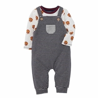 Thanksgiving Overalls and Tee Set at www.Little-Minnows.com