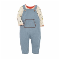 Camp Baby Overall Set at www.Little-Minnows.com