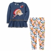 Hedgehog Tunic and Legging Set at www.Little-Minnows.com