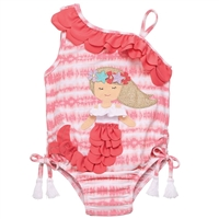 Girls' Mermaid Swimsuit available at Little-Minnows.com