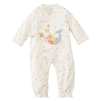 Baby Girls' Mermaid Kimono Sleeper at Little-Minnows.com