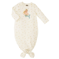 Mermaid At Heart Gown for Baby at Little-Minnows.com
