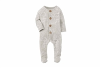 Safari Print Footed Baby Bodysuit at Little-Minnows.com