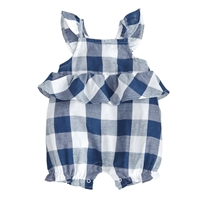 Baby Girls' Gingham Bubble at Little-Minnows.com