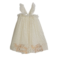 Birthday Princess Tulle Dress available at Little-Minnows.com