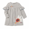 Thanksgiving Turkey Baby Dress at www.Little-Minnows.com