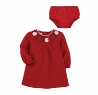 Mud Pie Smocked Christmas Dress at Little-Minnows.com