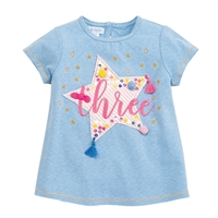 "Birthday Princess ""Three"" T-Shirt"