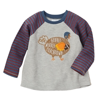 Boys' Gobble Time Football Tee at Little-Minnows.com