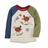 Gobble Wobble Thanksgiving Tee at www.Little-Minnows.com