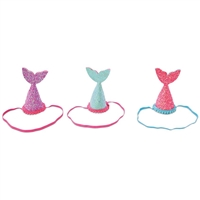 Glitter Mermaid Tail Party Hat at Little-Minnows.com