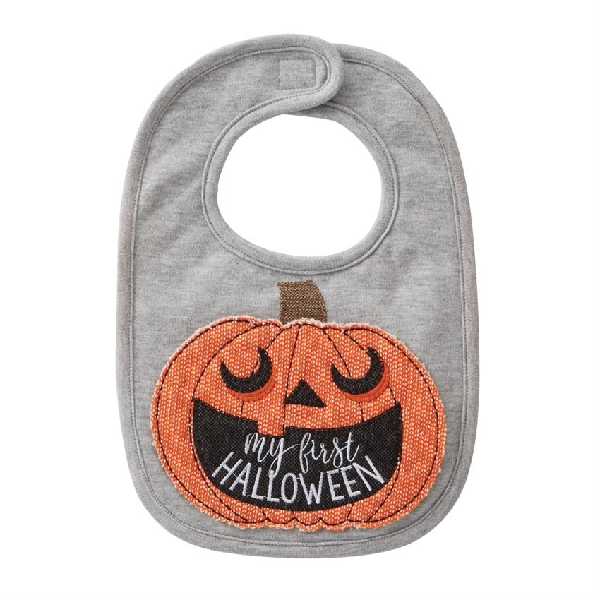 My First Halloween Pumpkin | My First Halloween Pumpkin Bib Available At Little Minnows Com