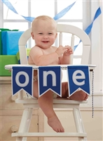First Birthday Banner available at Little-Minnows.com