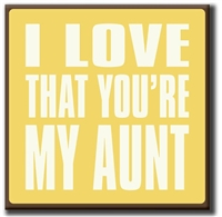 I Love That You're My Aunt at Little-Minnows.com