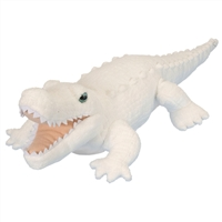 White Alligator Plush Available at Little-Minnows.com