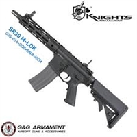G&G Knights Armament SR30 CQB M-Lok Full Metal AEG