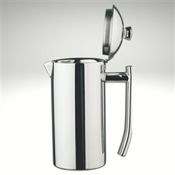 Platinum Beverage Server, mirror finish, 41 fl. oz.