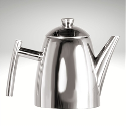 Primo Teapot with Infuser, mirror finish, 14 fl. oz.