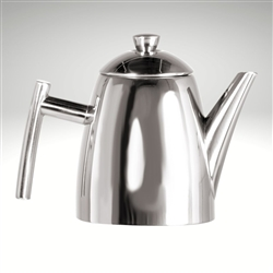 Primo Teapot with Infuser, mirror finish, 34 fl. oz.