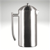 French Press, brushed finish, 44 fl. oz.