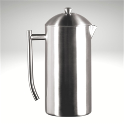frieling french press brushed finish stainless steel 44 fl oz