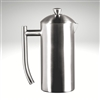 French Press, brushed finish, 17 fl. oz.