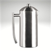 French Press, brushed finish, 36 fl. oz.