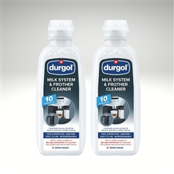 Durgol Milk System & Frother Cleaner - 2 Bottles, 16.9 fl. oz. each