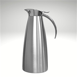 Elina stainless steel server, 44 oz.